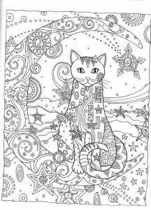 Ажурные трафареты котов | Раскраски с животными, Раскраски ...