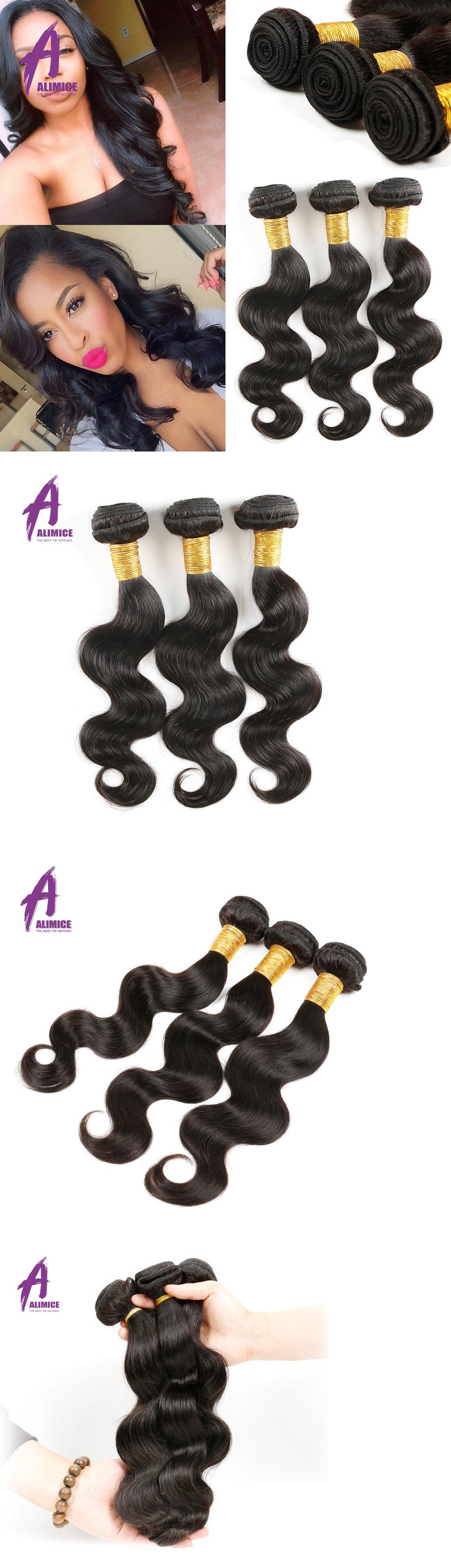Hair Extensions Brazilian Virgin Body Wave Human Hair Bundles Weave