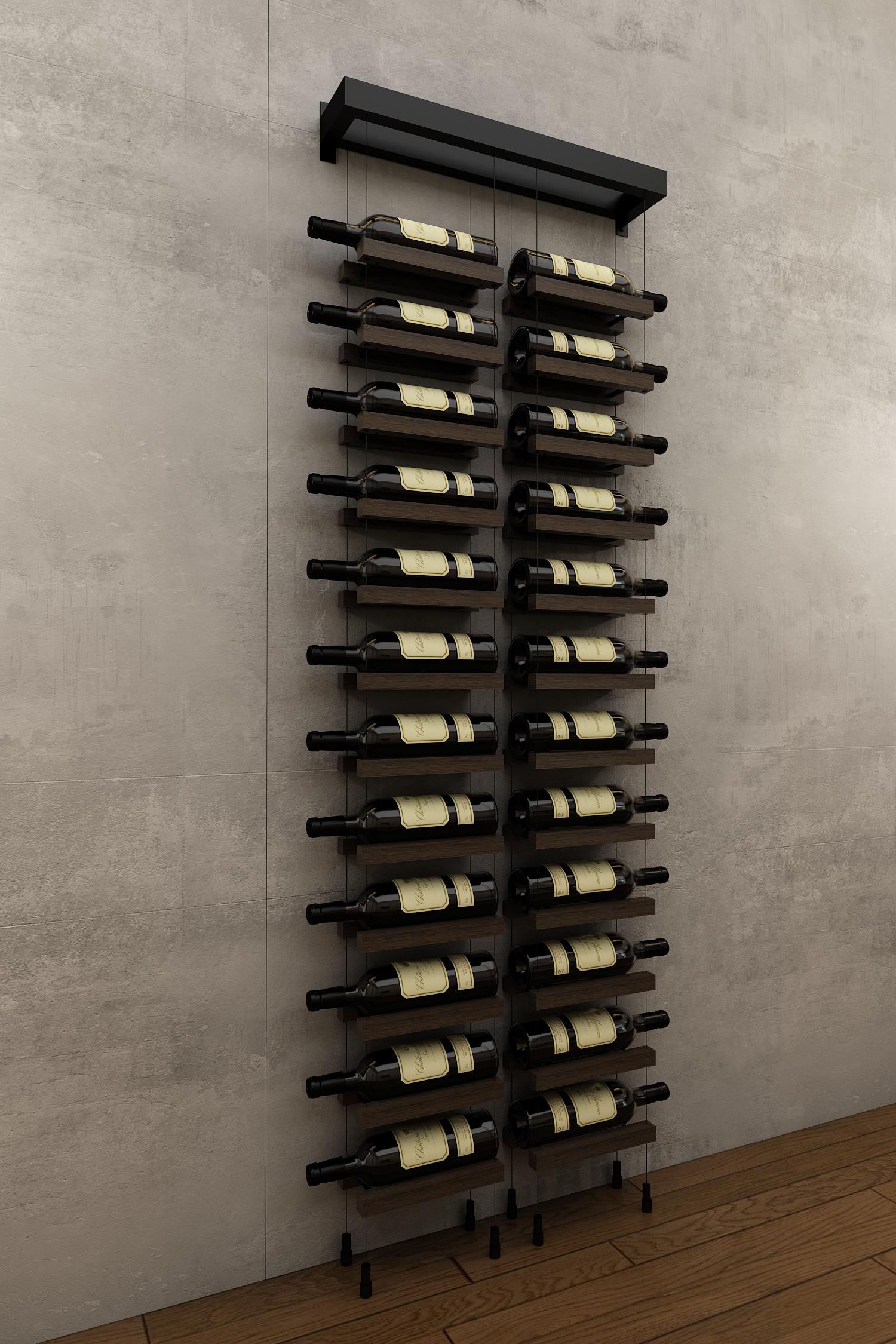Wm24 Black Modern Wine Rack Wall Hanging Wine Rack Wine Rack