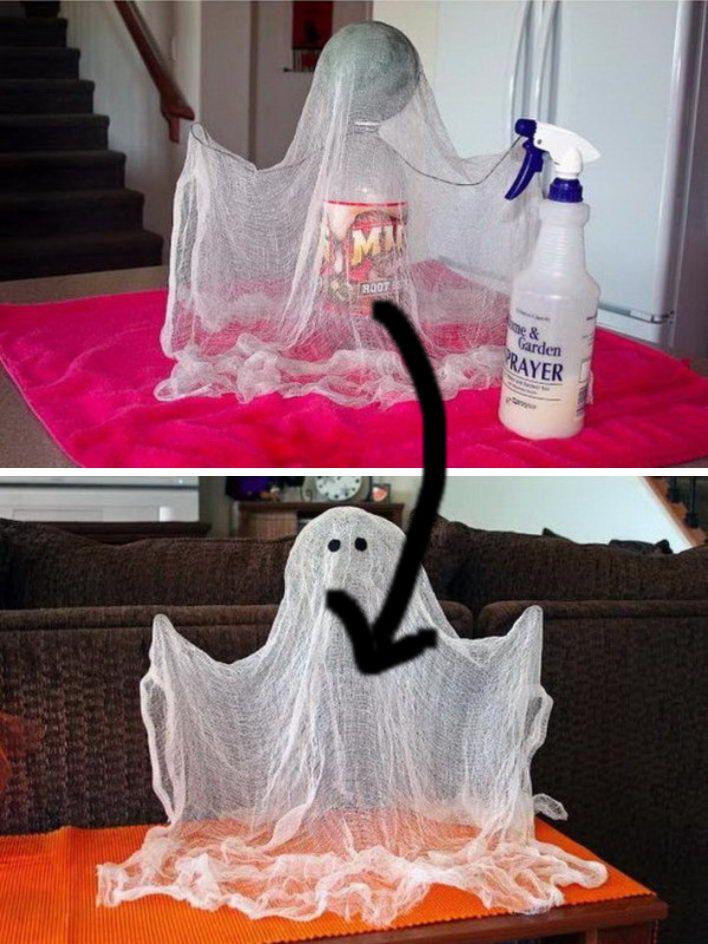 25+ Cute Halloween Decorations Cheap diy halloween