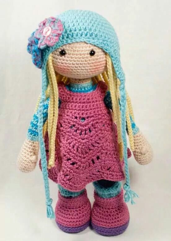 Pin de Rita Mamani en crochet | Pinterest | Muñecas, Tejido y Ganchillo