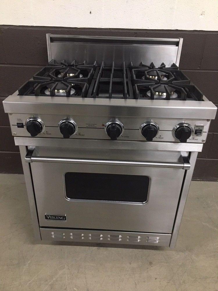 Viking Vgic307 4bss 30 Professional Gas Range Oven 4 Burner Stainless Oven Range Gas Range Stoves For Sale
