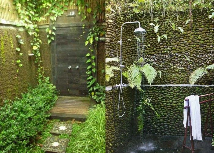 Splendid Bathroom Design For Nature Lovers Http Ghar360 Com Blogs Architecture Splendid Bathroo Outdoor Bathrooms Outdoor Bathroom Design Custom Tile Shower