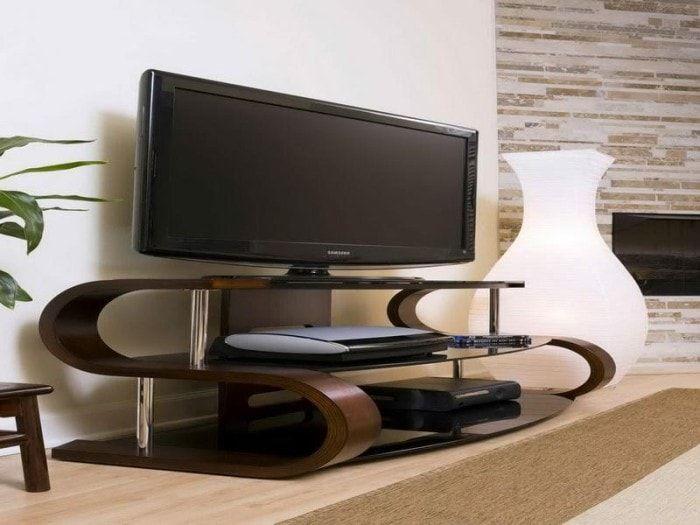 Дизайн тумбы под телевизор в современном стиле фото ...