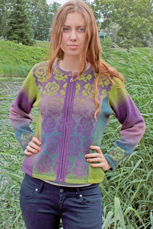 Kauni - Short cardigan | FAIR ISLE KNIT | Pinterest | Fair isles ...
