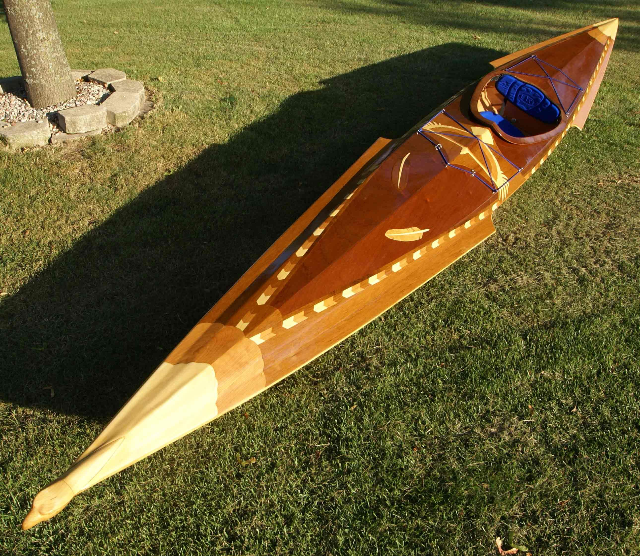Matchless Cedar strip kayak cost seems me