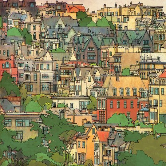 Fantastic Cities A Colouring Book Of Amazing Places Real And Imagined Steve McDonald Tumblr