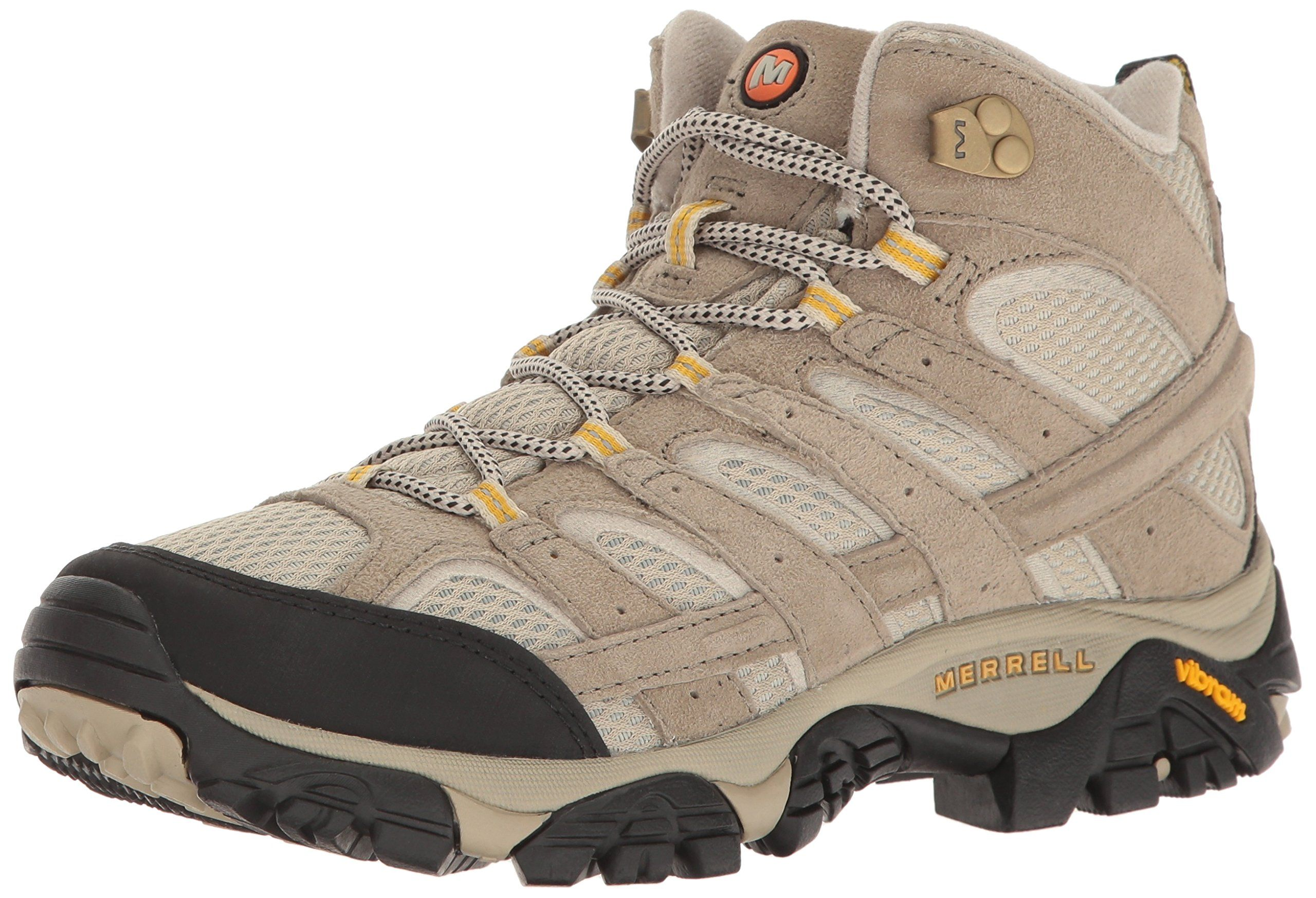 Merrell Women's Moab 2 Vent Mid Hiking Boot, Taupe, 6 W US