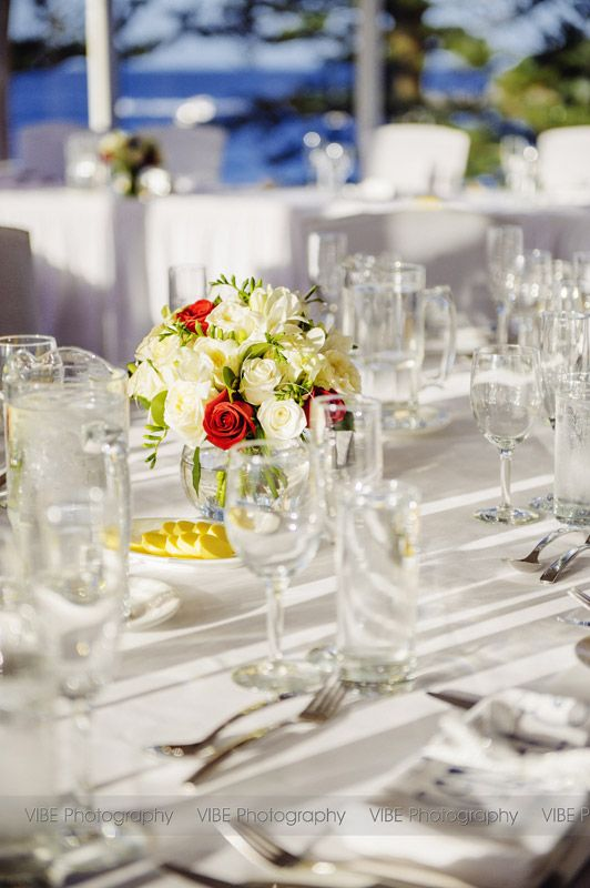Joseph And Sonis Wedding Day Table Settings At Crowne Plaza Terrigal Reception Held In Lord