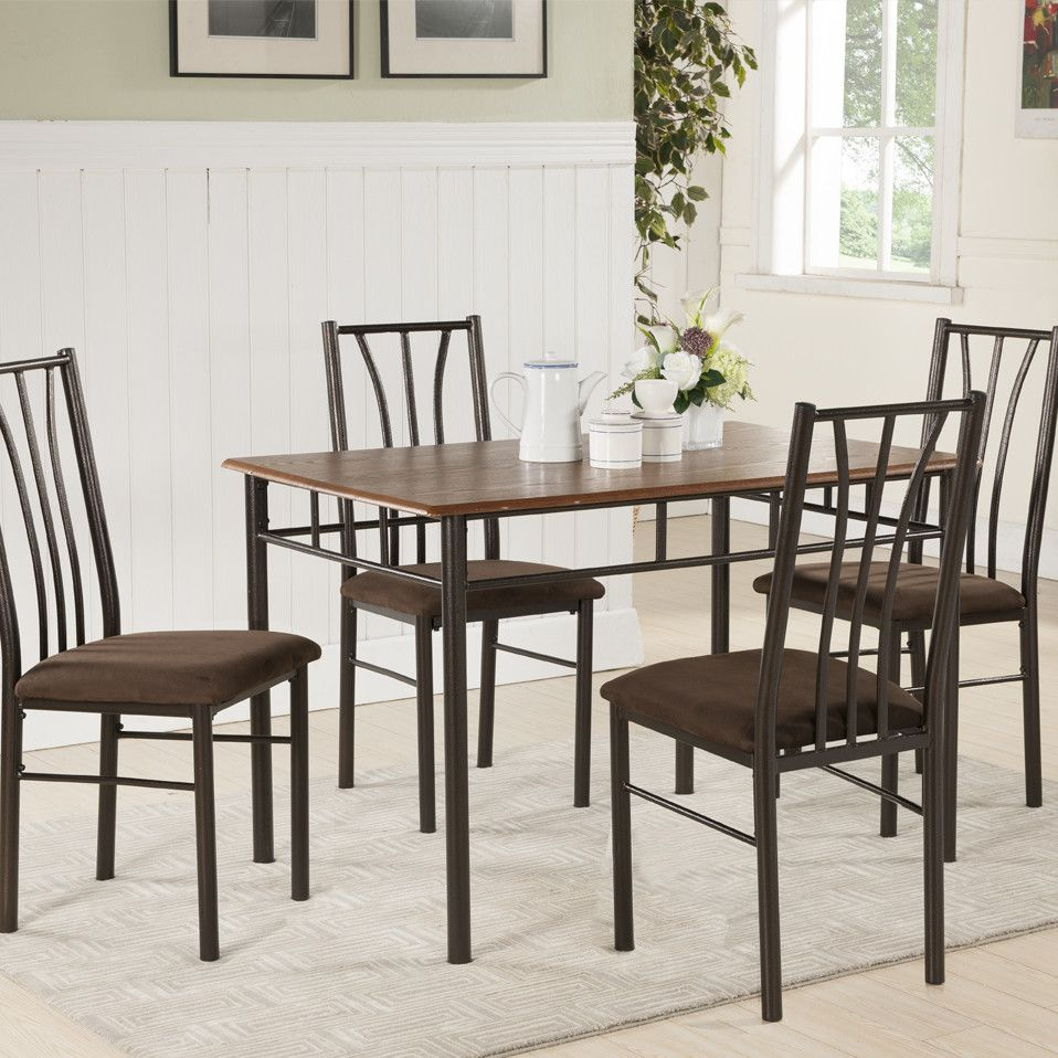 5 Piece Dining Set Wayfair Dining Table In Kitchen Dining Room Sets Dining