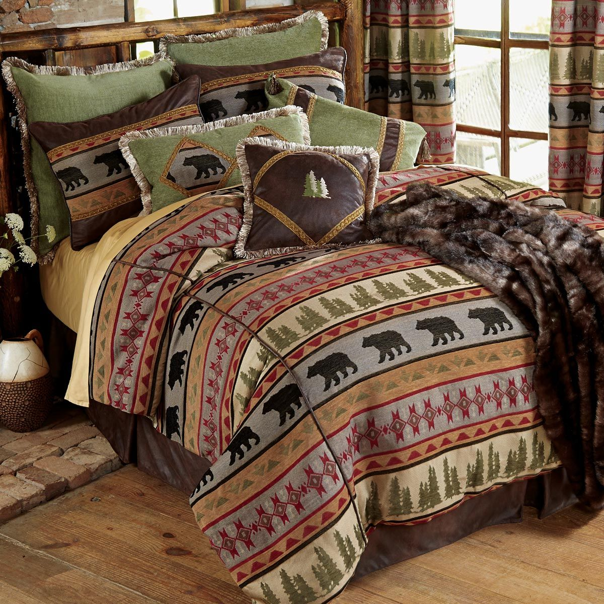 Rustic Bedding & Cabin Bedding - Black Forest Decor ...