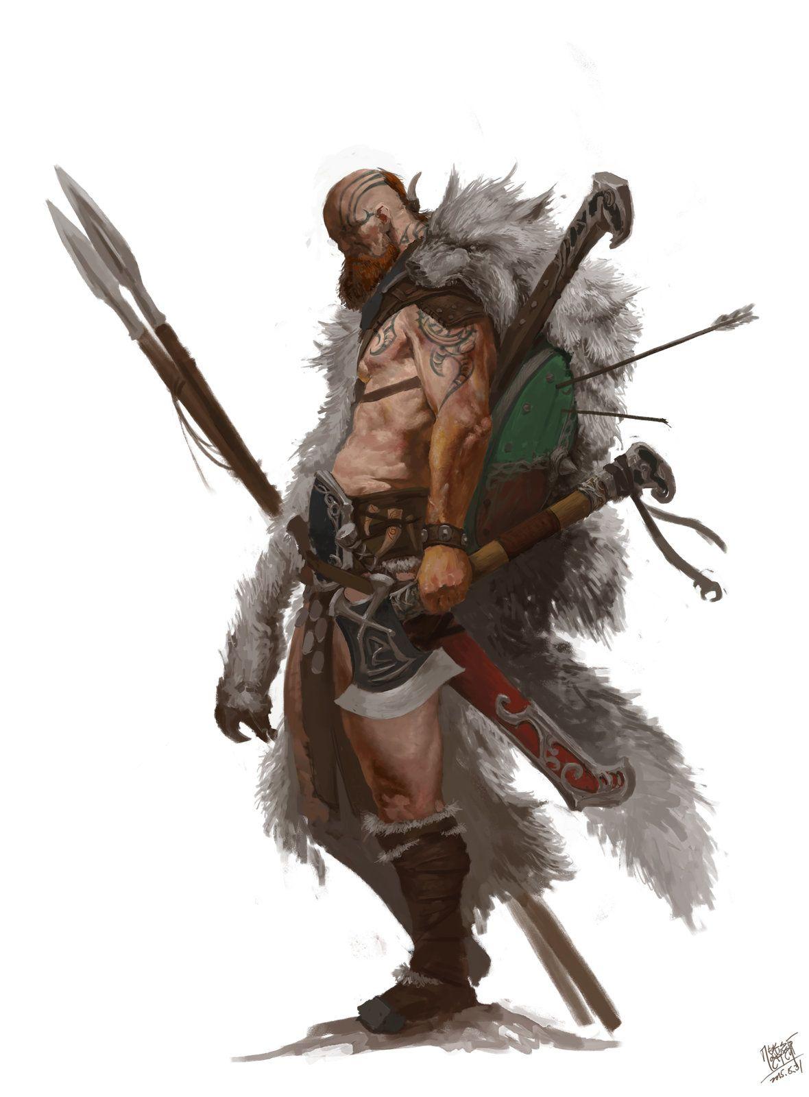 Warrior, NI Yipeng on ArtStation at https://www.artstation ...  Warrior, NI Yip...