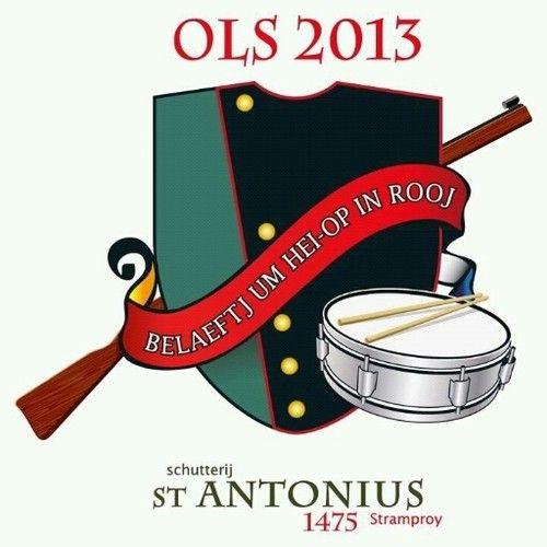 Logo van het Oud Limburgs Schutterfeest  OLS in Stamproy 2013