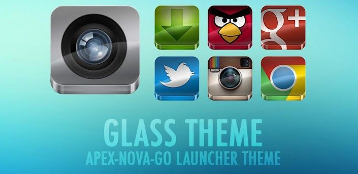 GLASS APEX-NOVA-GO THEME v1 5 apk Requirements: 2 0 and up