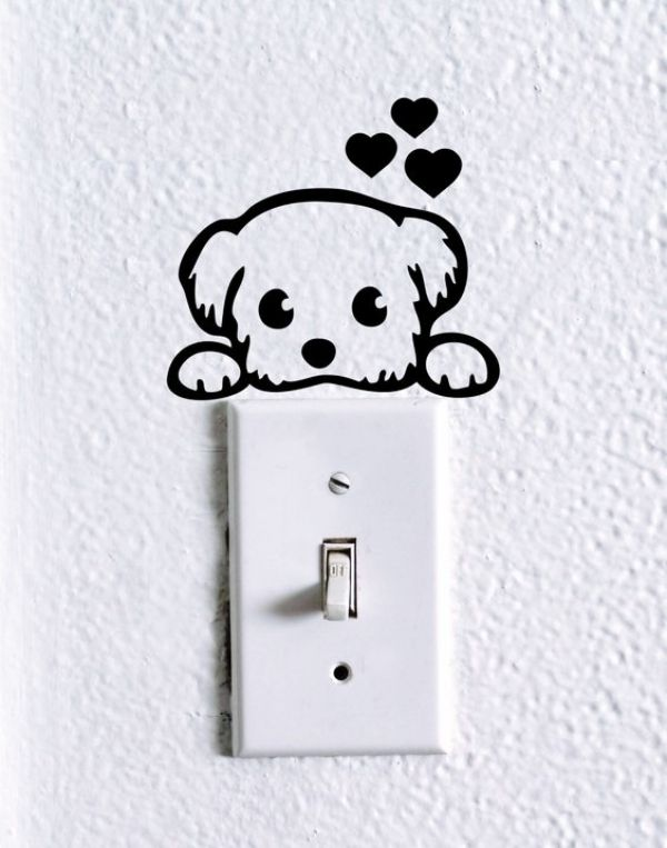 Image result for cute wall decorations switch board