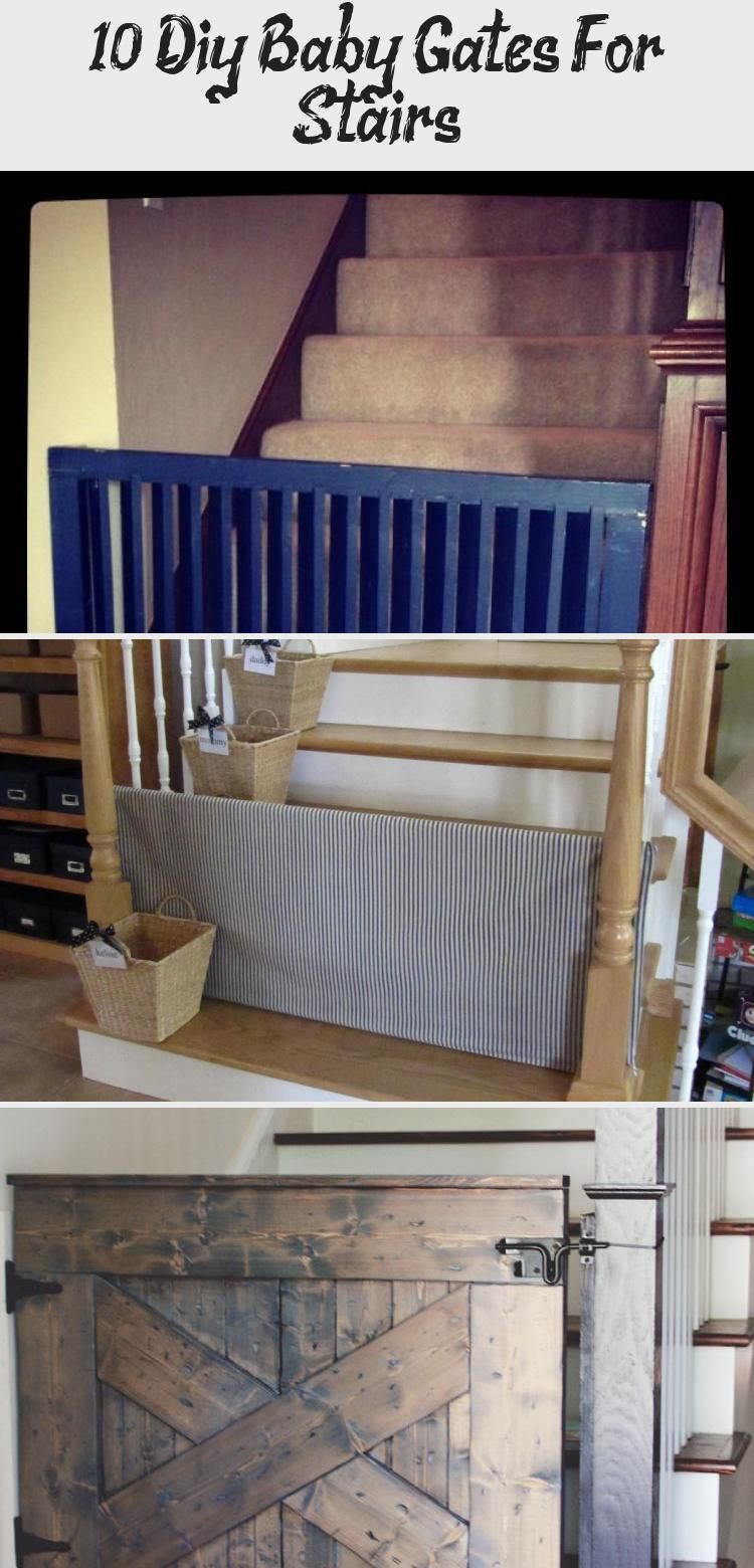 10 diy baby gates for stairs in 2020 diy baby gate baby
