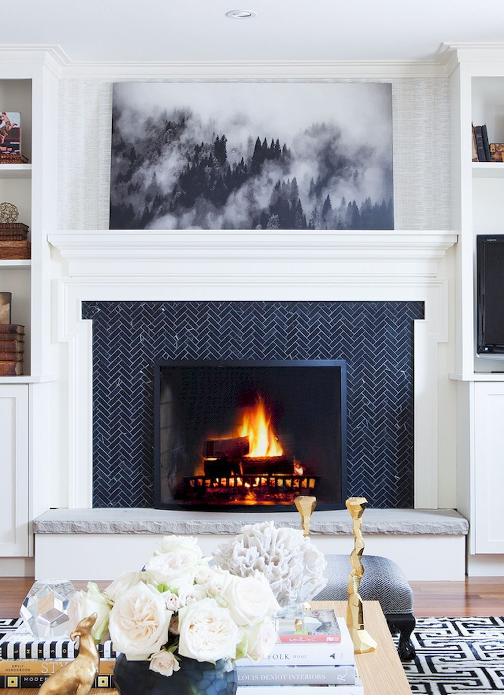 85 inspiring fireplace ideas for your living room solutioingenieria Gallery