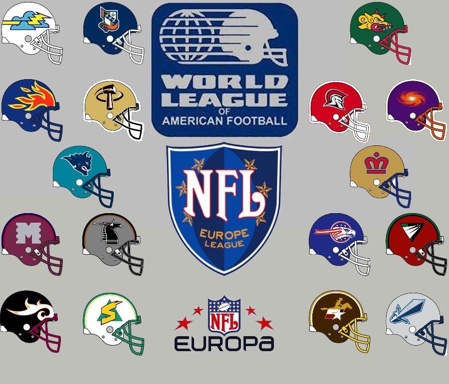 Wlaf Nfleurope Europa World Football League Nfl Europe Pro