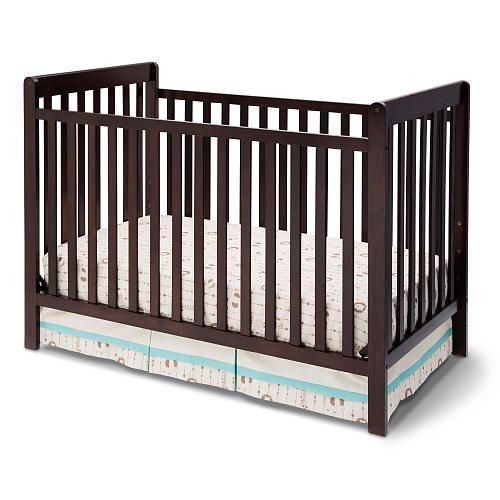 Delta Children Bennington 3 In 1 Crib Dark Chocolate