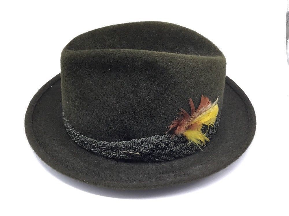 d37d938ec86 Vintage THE SOVEREIGN STETSON GREEN FEDORA HAT Size 7  fashion  clothing   shoes  accessories  vintage  vintageaccessories (ebay link)