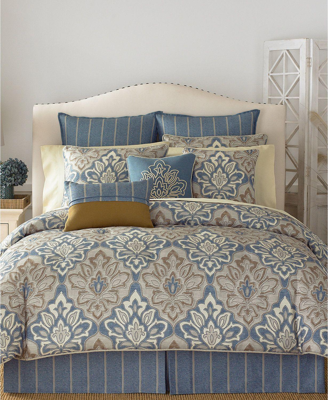Croscill Captain S Quarters 4 Pc Bedding Collection Macys Com Comforter Sets King Comforter Sets Queen Comforter Sets