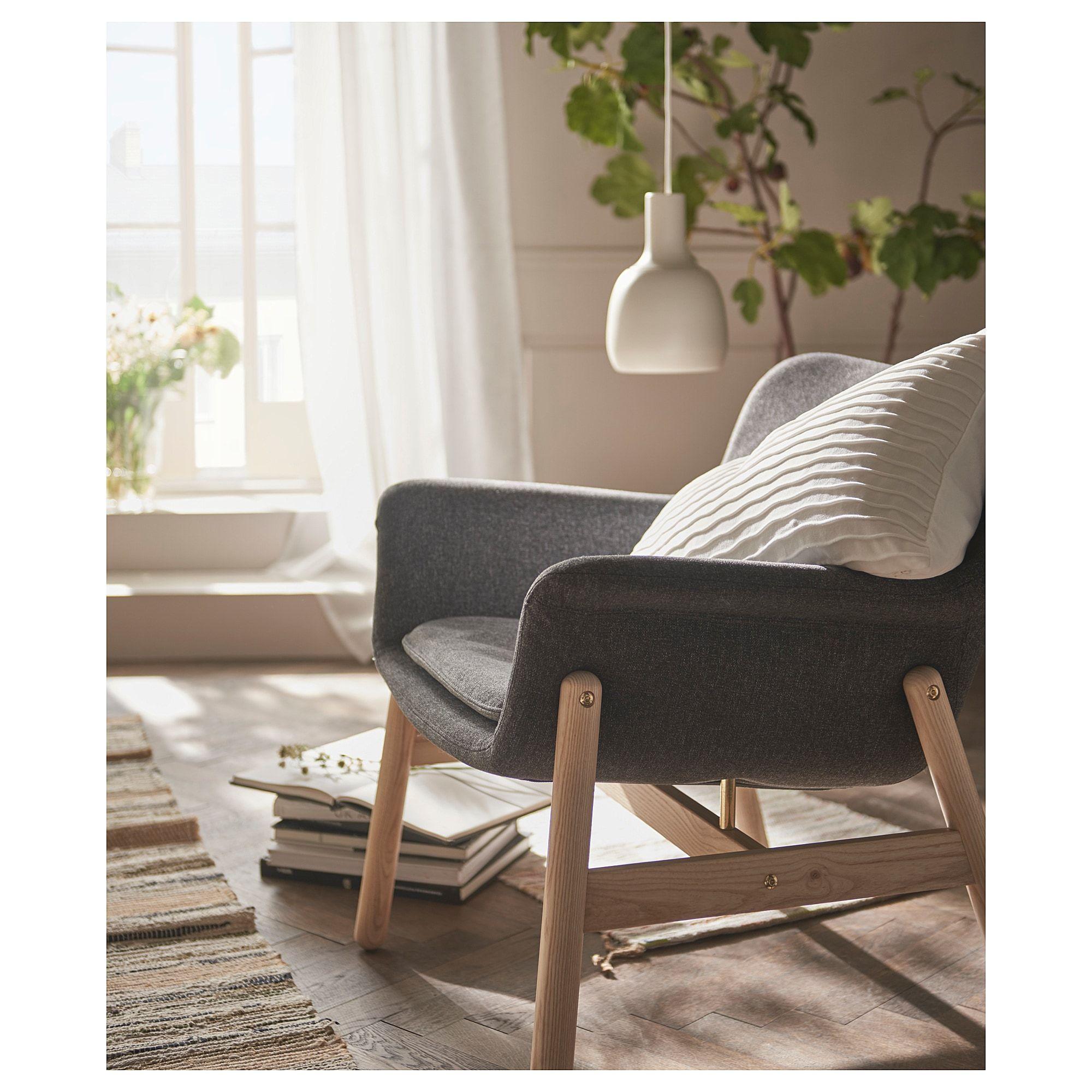 IKEA - VEDBO Armchair Gunnared dark gray in 2019 | Cosy ...