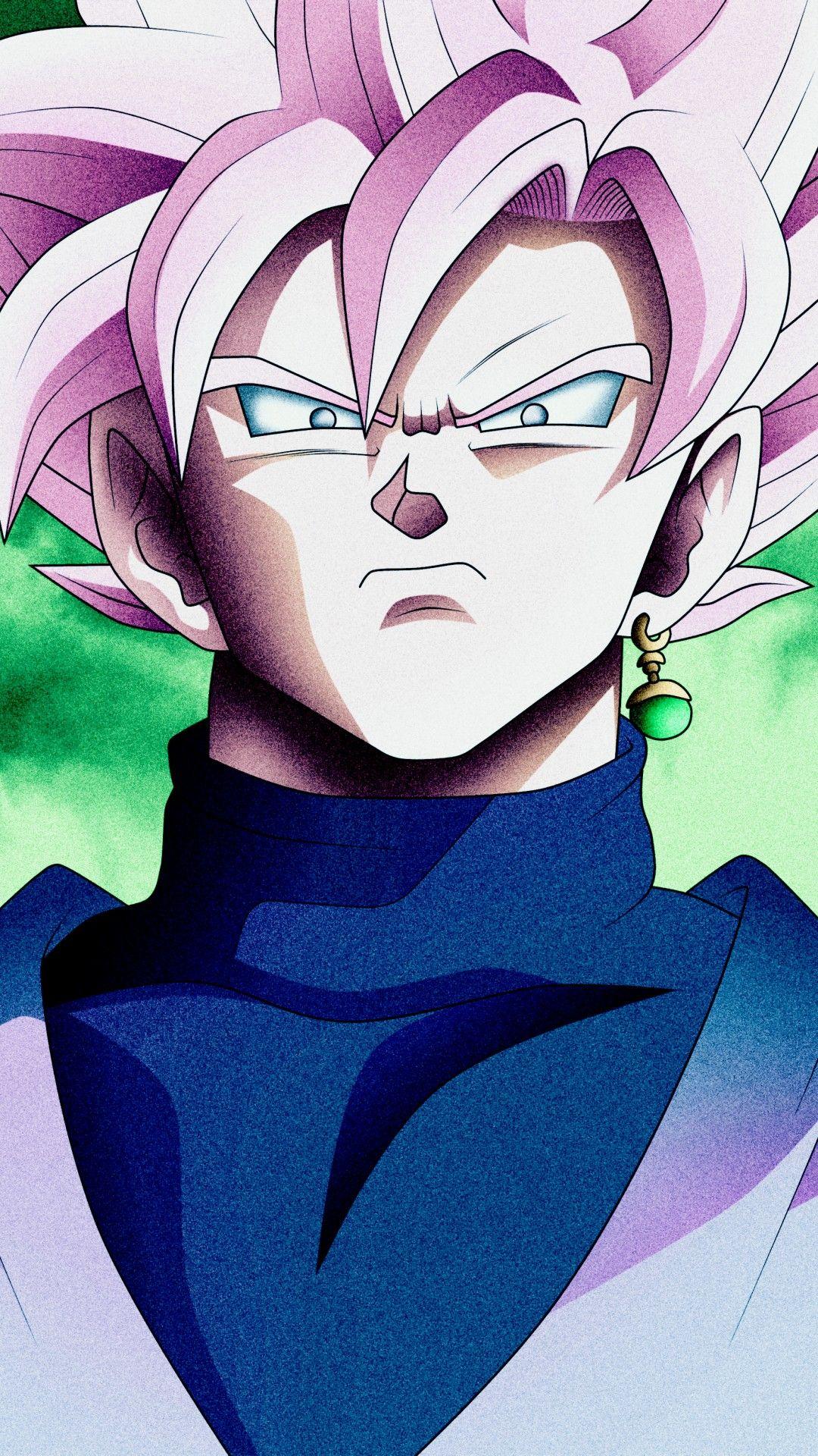Super Saiyan Rose Black Goku Anime, Goku desenho, Dragon