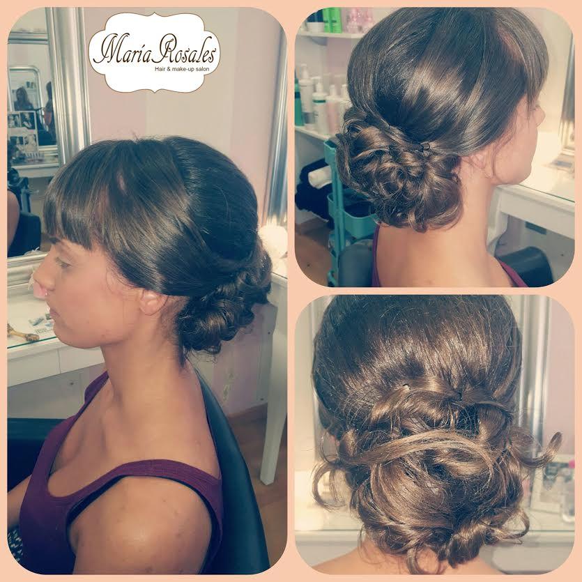 Peinados recogidos para asistir a una boda