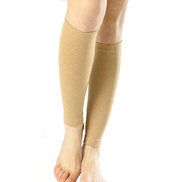 New Women Acrylon Knee High Compression Slim Thin Leg 30