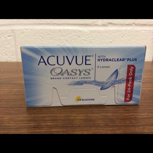 Acuvue Oasys Contacts Acuvue Oasys Contacts Brand New Unopened