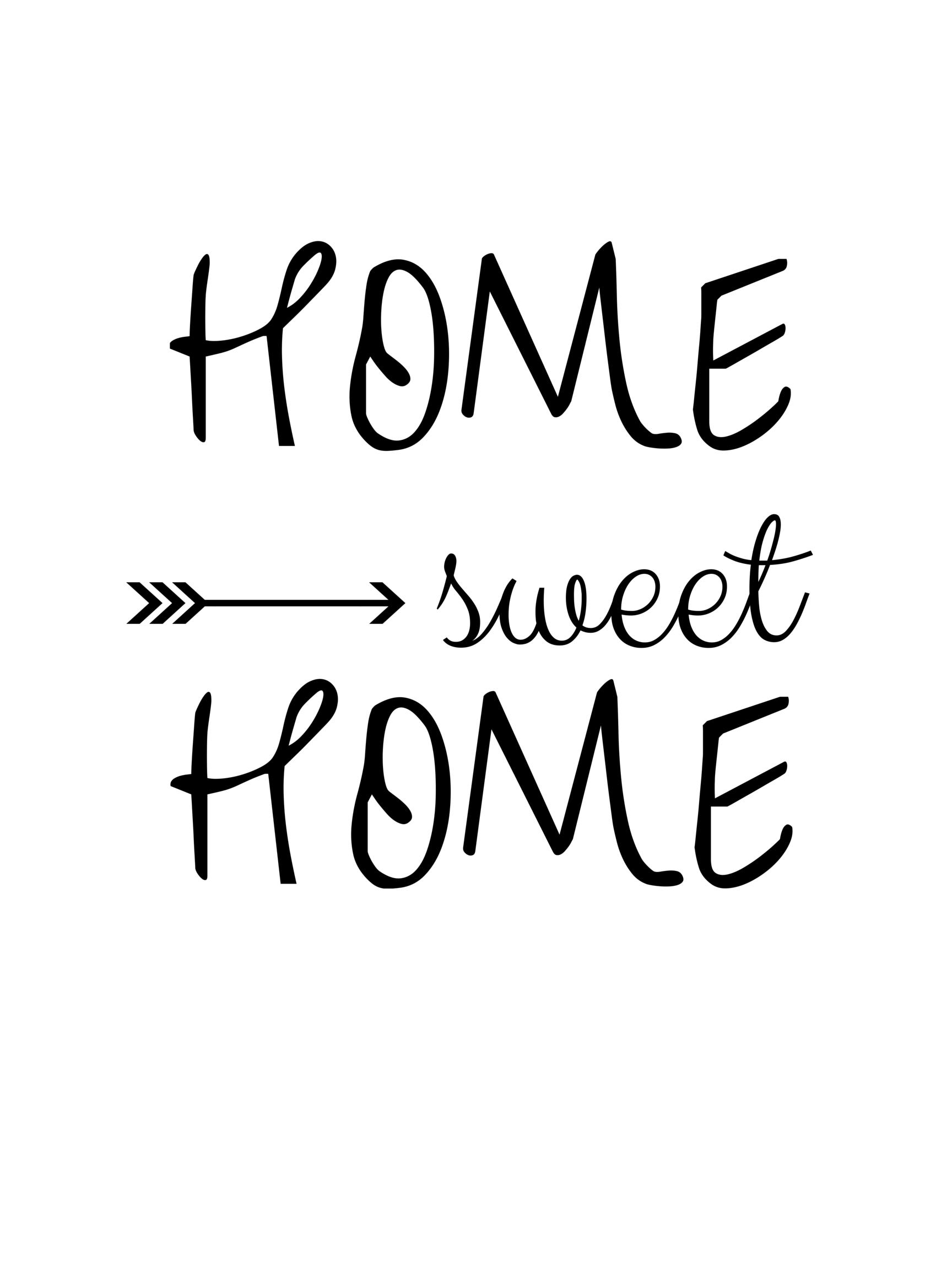 Home Sweet Home Napis Do Pobrania Sweet Home Design House Design