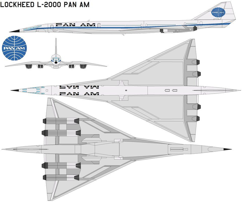 Cutaway of a pan am boeing 377 stratocruiser image from chris sloan - Lockheed L2000 Pan Am By Bagera3005