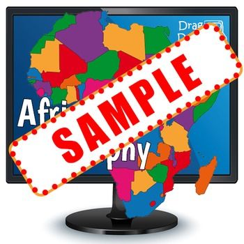 FREE Smartboard Africa Geography Game For Kids Use On An - Free geography games