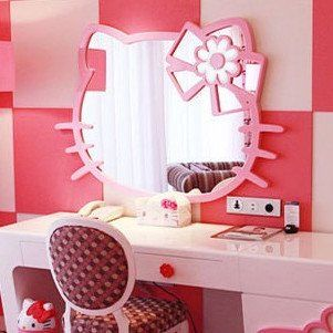 Hello Kitty Wall Mirror Picture