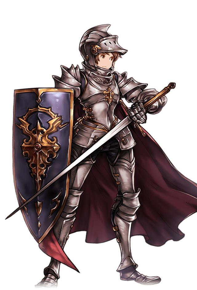f Halfling tallfellow Paladin Plate Helm Shield Sword Cape