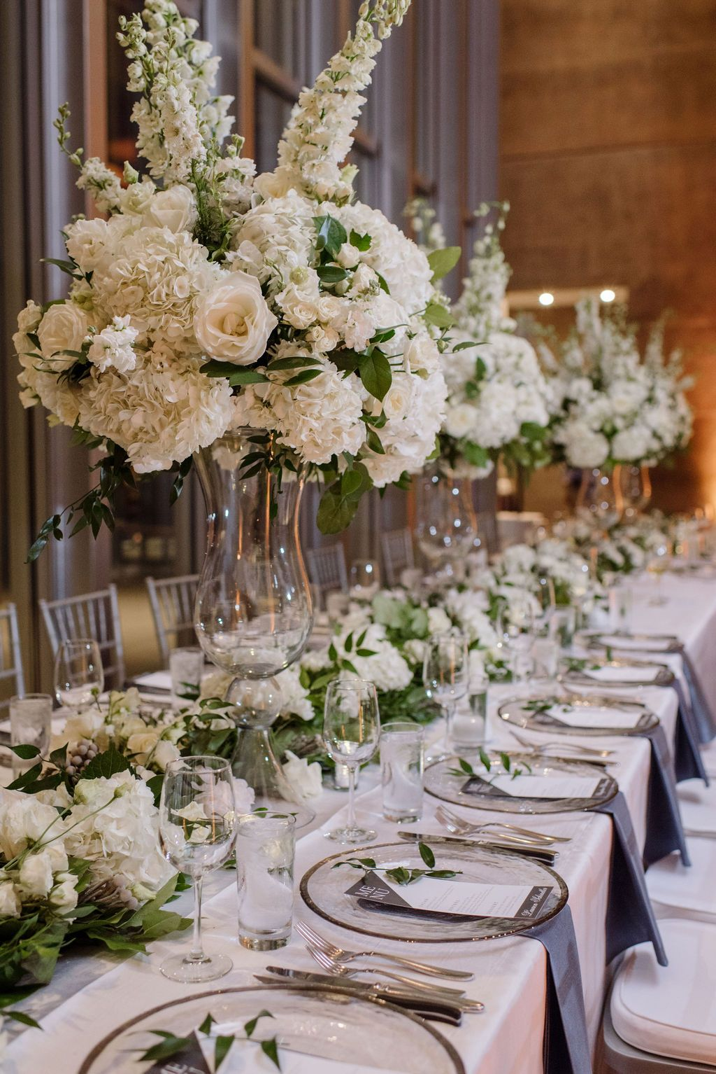 Classic Garden Wedding White Centerpiece Wedding Centerpieces White Flower Centerpieces Wedding Reception Centerpieces