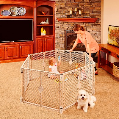 Sand 6 panel Playard North States Superyard Indoor and Outdoor