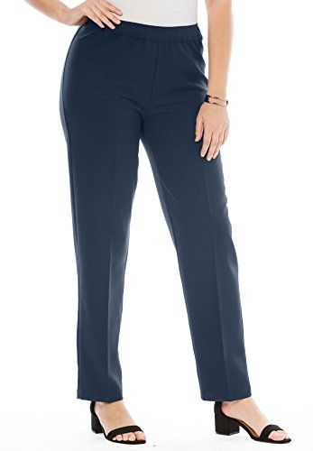 0210f19ec44b3 Fashion Bug Women s Plus Size Bend Over Pull-On Pant www.fashionbug.us   plussize  fashionbug  pants