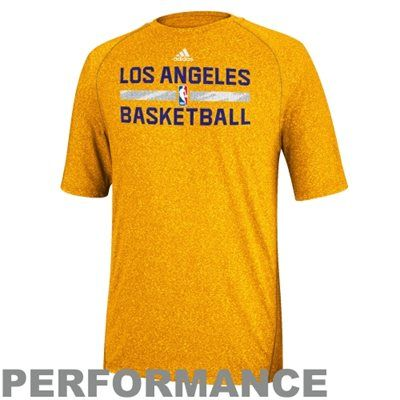 2a9eaa0504c ... adidas Los Angeles Lakers 2013 Christmas Day Practice Performance T- Shirt - Gold Kobe ...