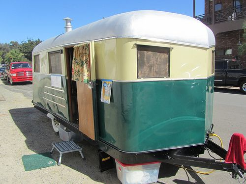 Covered Wagon Trailer - 1937 | Vintage Travel Trailers | Covered
