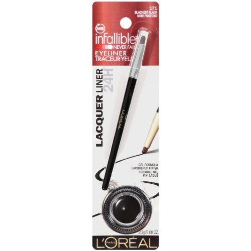 L'Oreal Paris Infallible Gel Lacquer Liner, ...