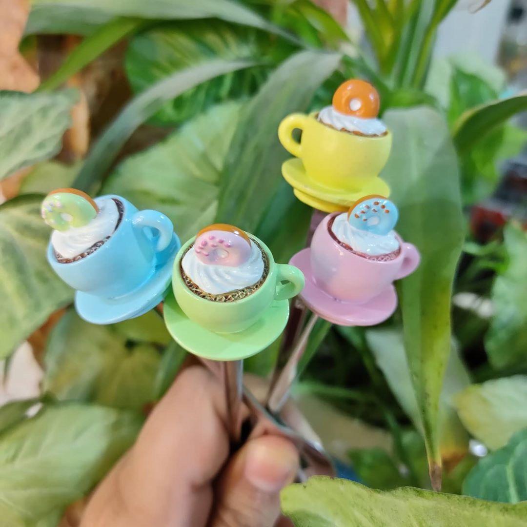 بيت العائلة On Instagram ملاعق كب كيك سيت من اربع الوان سعر السيت ٤ الاف دينار توصيل بغداد صار ٤ الاف توصيل باقي المحاف Measuring Cups Spoon Measuring Spoons