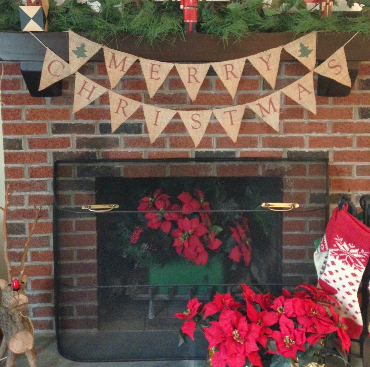 Two it yourself easy printed merry christmas burlap banner two it yourself easy printed merry christmas burlap banner solutioingenieria Images