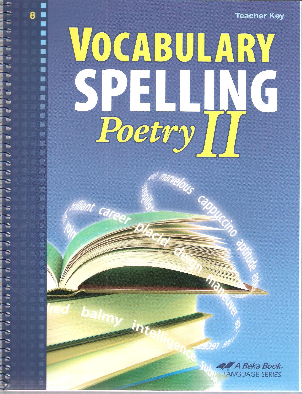 Abeka Vocabulary Spelling Te