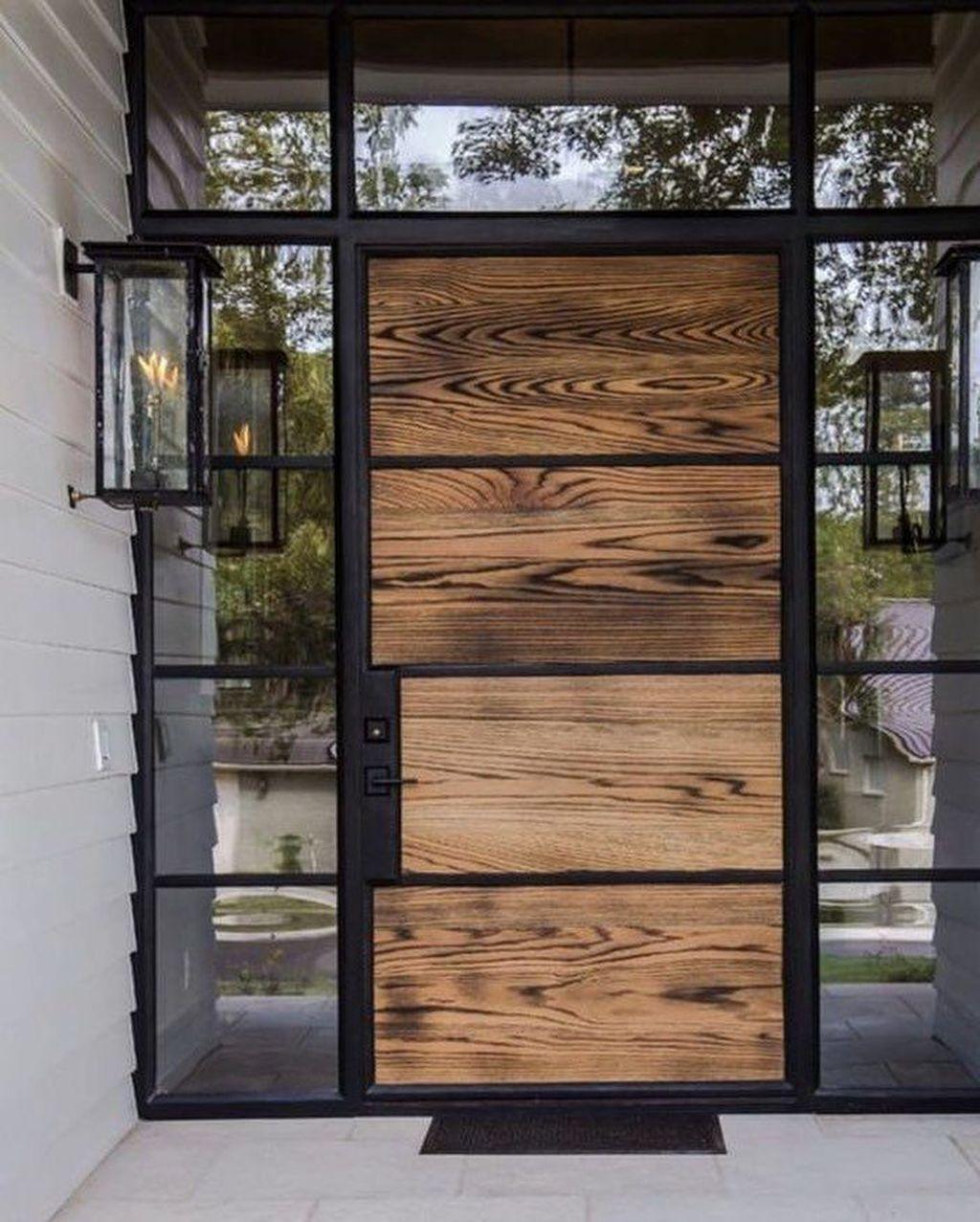 32 The Best Modern Front Entrance Exterior Design Ideas House Designs Exterior House Front Door Exterior Front Doors