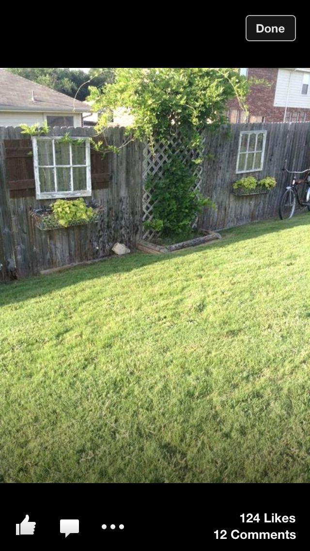 Was f r eine sch ne idee zaun garten garten ideen und zaun - Garten holzwand ...