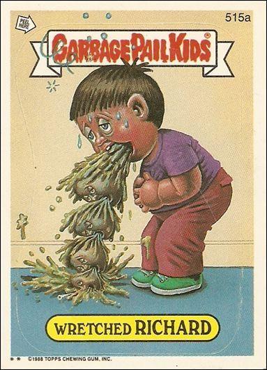 Garbage Pail Kids Series 13 515a A Jan 1988 Trading Card By Topps Garbage Pail Kids Garbage Pail Kids Cards Garbage