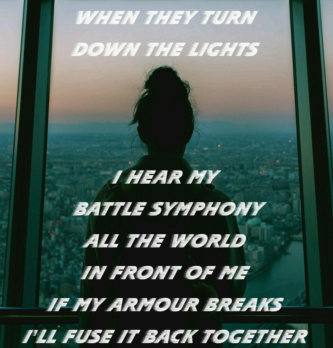 Battle symphony -Linkin Park | Song lyrics | Song lyric