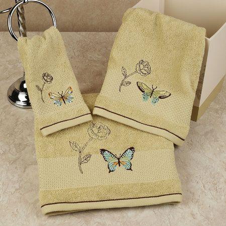 Butterfly Bliss Bath Towel Set