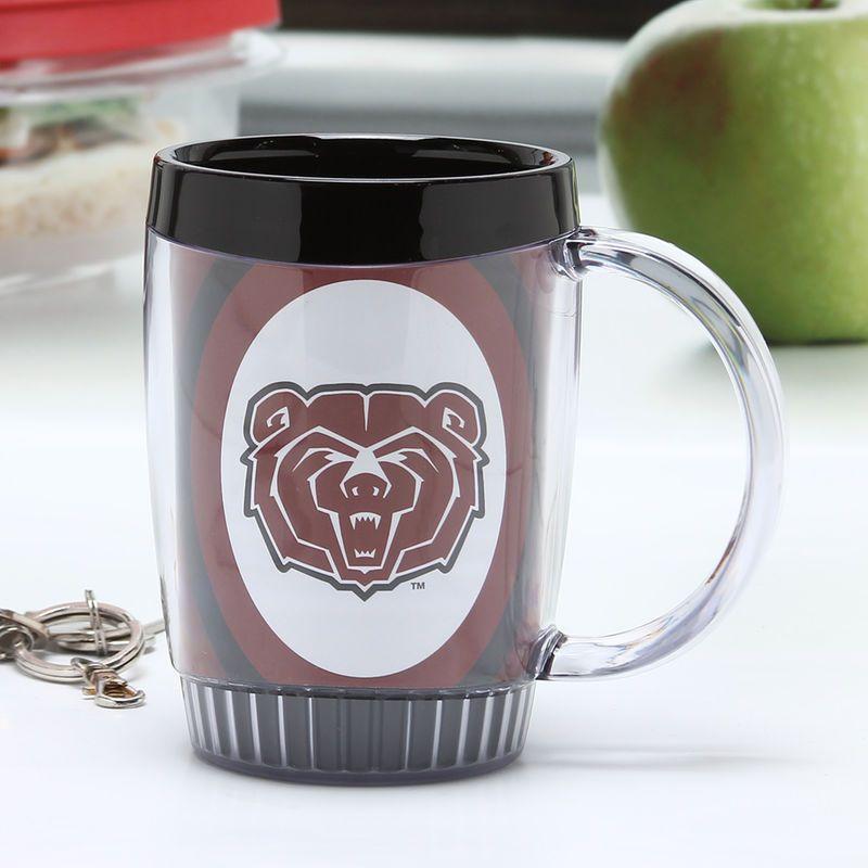 Missouri state university bears 14oz plastic desk mug